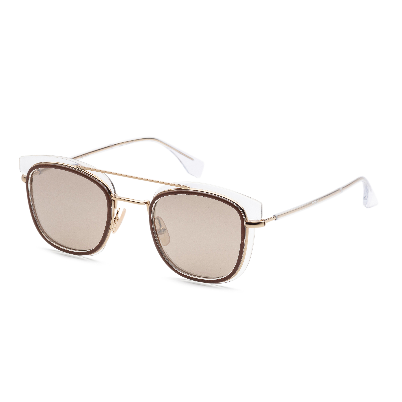 Fendi Men's Fashion Ff-m0060-s-0900-49-25 49mm Crystal Sunglasses
