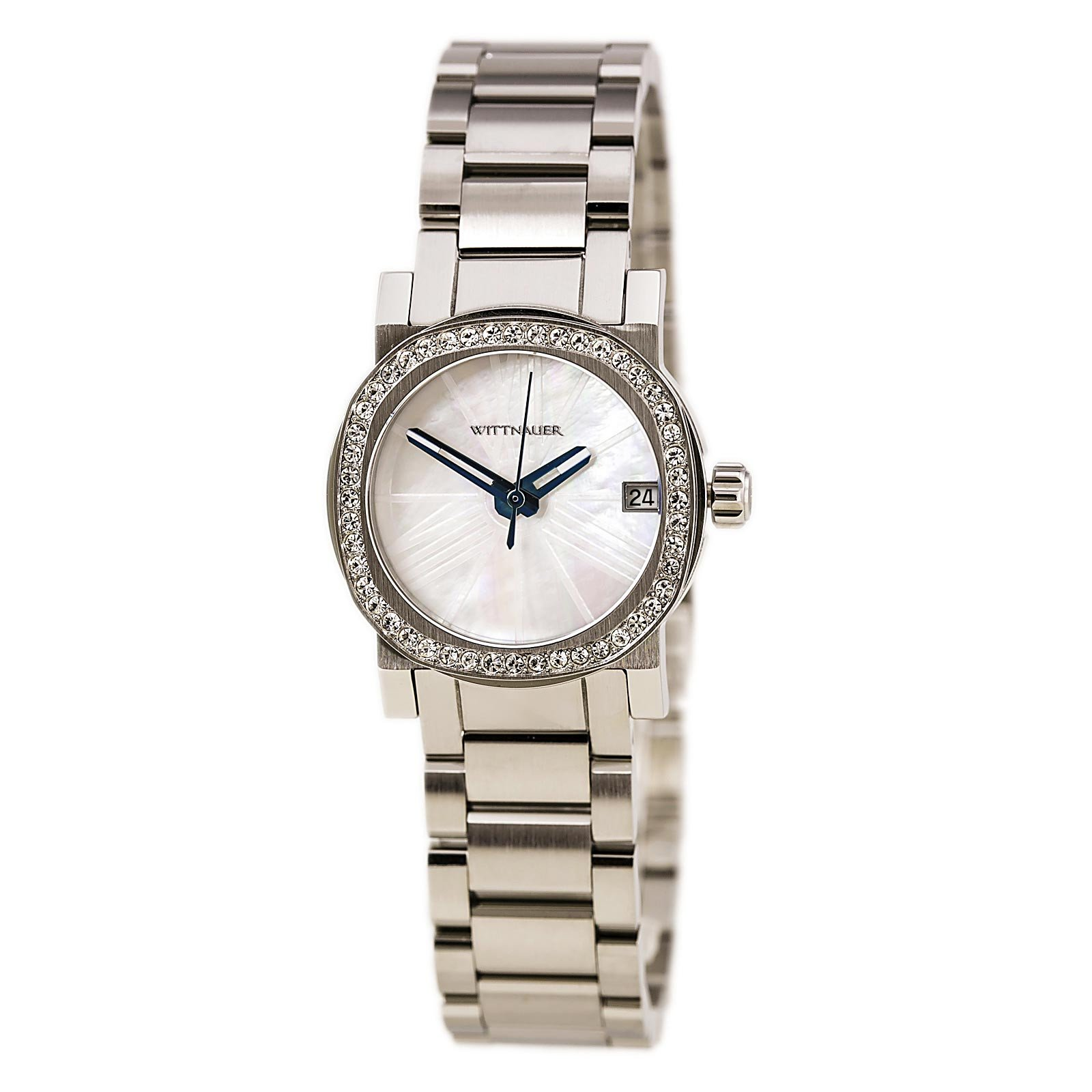 Stainless | Crystal | Accent | Watch | Steel | Women | Mini
